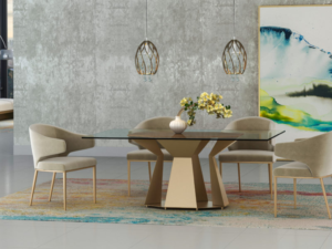 Tessa Rectangle Dining Room Table