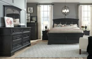 3180 Bedroom with Panel Headboard