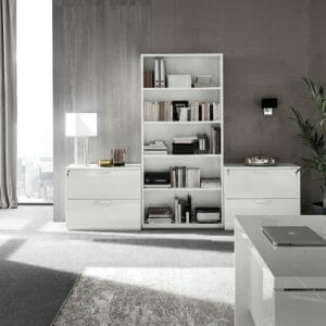 4043 Bookcase and Drawers