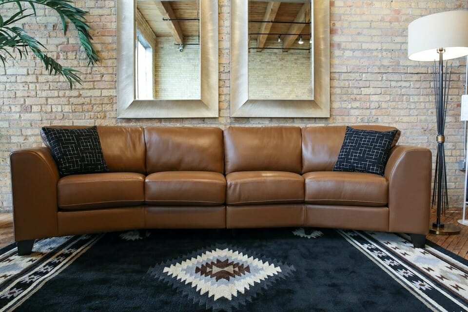 Bachman Furniture Living Room Group Leather Couch